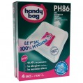 Lot de 4 sacs aspirateur non tissé - ph86 - PHILIPS