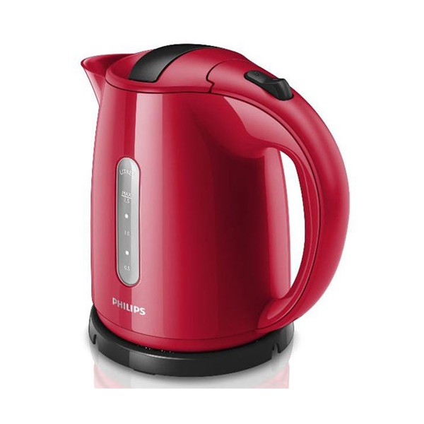 Bouilloire Daily Collection 1.5L - rouge et anthracite - HD4646.50 - PHILIPS