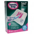 Lot de 4 sacs aspirateur non tissé - s67 - BOSCH - S67 - Handy bag