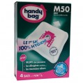 Lot de 4 sacs aspirateur non tissé - m50 - MIELE - M50 - Handy bag