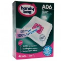 Lot de 4 sacs aspirateur non tissé - a06 - AEG - A06 - Handy bag