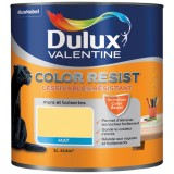 Peinture mate Color Resist - murs et boiseries - 1L - jaune chrome
