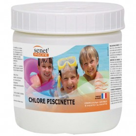 Chlore piscine hors sol 500g 2007991 senet home for Chlore piscine composition