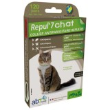 Collier chat - repul'7 - 35 cm