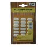 Taquet anti-bruit - lot de 18