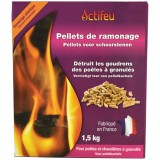 Pellets de ramonage - 1.5kg