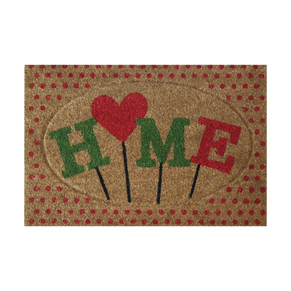 Tapis coco Home coeur - 40x60 cm - COCON4060SCULHO - ID MAT
