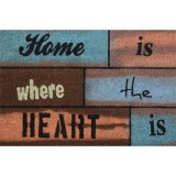 Tapis coco Home heart - 40x60 cm