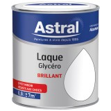 Laque glycéro brillante 0.5 L - base white