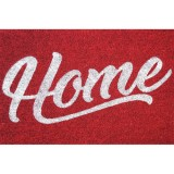 Tapis coco - 40x60 cm - Home rouge