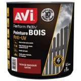 Peinture Perform Activ bois satin 0.5 L - rouge basque
