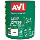 Laque glycéro Perform Activ satin 2.5 L - blanc