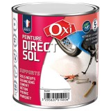 Peinture direct sol satin 0.5 L - blanc
