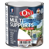 Peinture multi supports TOP3+ brillant 0.5 L - gris clair