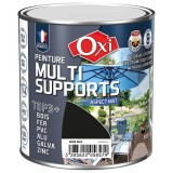 Peinture multi supports TOP3+ mat 0.5 L - noir