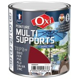 Peinture multi supports TOP3+ mat 0.5 L - bordeau