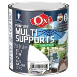 Peinture multi supports TOP3+ satin 0.5 L - blanc