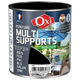 Peinture multi supports TOP3+ satin 0.5 L - noir