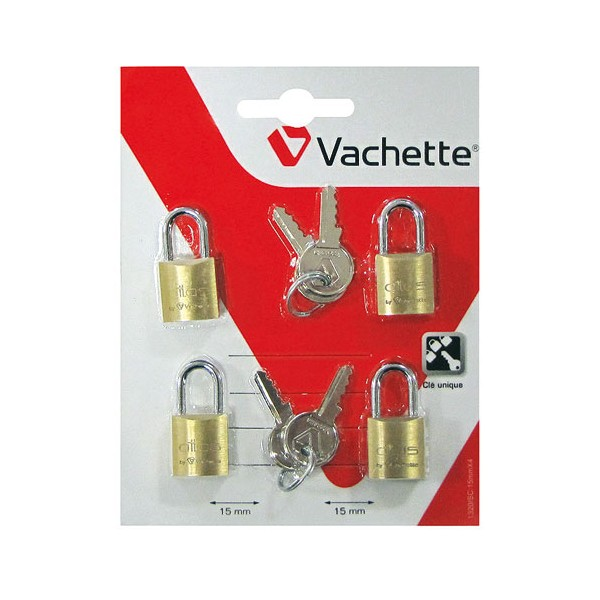 Cadenas Atlas - 15 mm - lot de 4 - 1320 4X15SC - VACHETTE