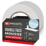 Ruban adhésif double face - 15 m x 30 mm - lot de 3