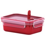 Boite Clip close micro rectangulaire 0l55 rouge