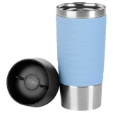 Travel mug wave 0l36 bleu pastel