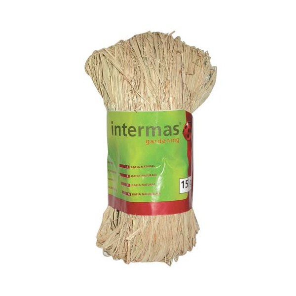 Raphia naturel - 150 g - 147022 - INTERMAS GARDENING