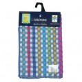Lot de 2 torchons - 45x70 cm - multicolore