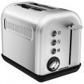 Toaster Accent Refresh 2 tranches inox