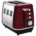 Toaster Evoke 2 tranches 7 positions rouge