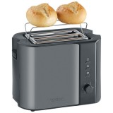 Toaster 800w th inox laque noir titane