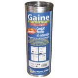 Gaine aluminium flexible - D: 125 mm - 3 m