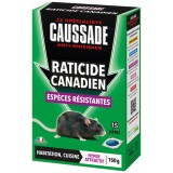 Pat'appât raticide canadien - 150 g - lot de 15 pâtes