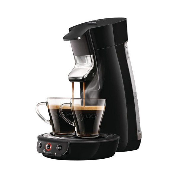 Cafetière Senseo viva collection 1-2t 0.8l noir - HD6563.61 - PHILIPS