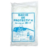 Bâche de protection fine - 4x5 m