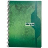 Cahier spiral 21x29.7cm 70g 100 pages 5x5