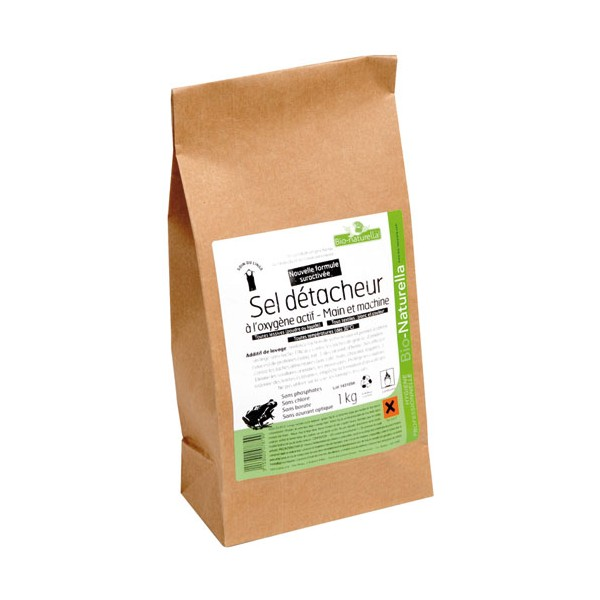 Sel détachant pour main + machine - 1 Kg  - 78799 - NATURELLA