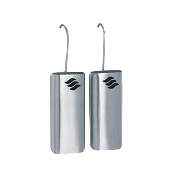 Lot de 2 saturateurs ovales en inox - 300 mL  - TUBT100010 - HYGRA