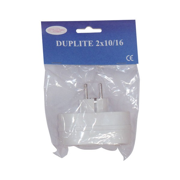 Multiprises biplite 2 phases + terre - 16 A - 210181S - SATIPLUGS FRANCE