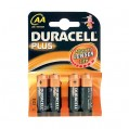 Lot de 4 piles LR06 Plus - AA - 10601 - Duracell