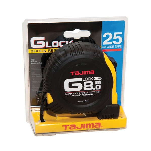 Mesure g-lock roulant - 8 m x 25 mm - G5P80MY - TAJIMA