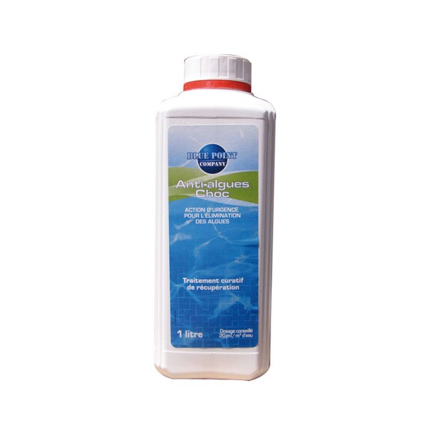 Anti-algues choc - 1 L - 8008015 - BLUE POINT COMPANY