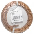 Câble hifi - 2x1.5 mm² - couronne 10 m - transparent - 60137035D - Electraline
