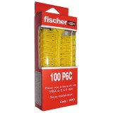 Cheville multi-usages - lot de 100 - PC 6