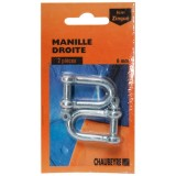 Manille droite - 12 mm