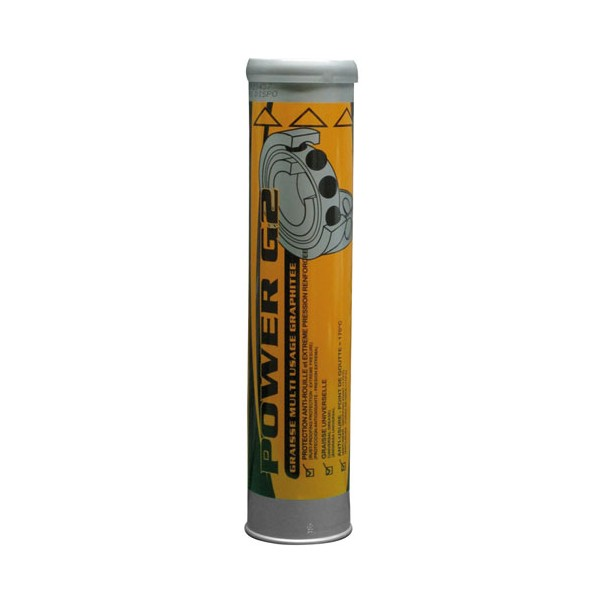 Graisse graphite - 410 g - AGG2 - POWER