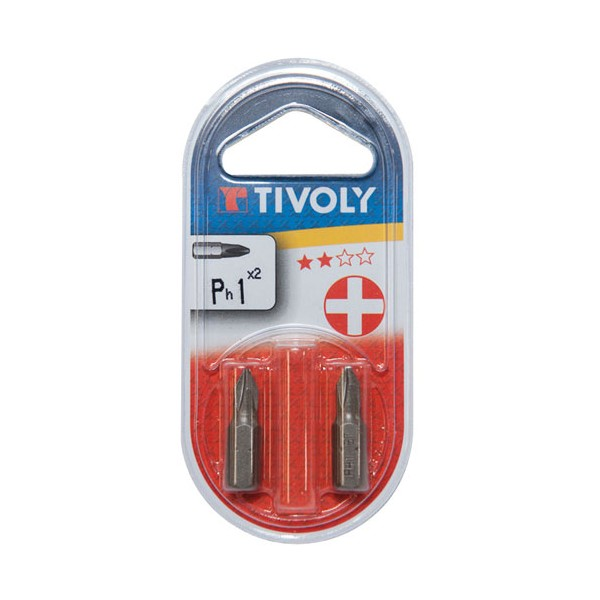 Embout - Philips n°1 - 25 mm - 11500320100 - TIVOLY