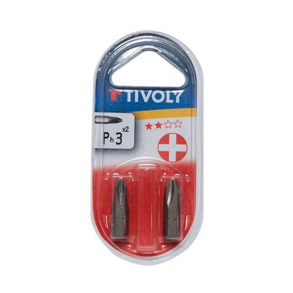 Embout - Philips n°3 - 25 mm - 11500320300 - TIVOLY