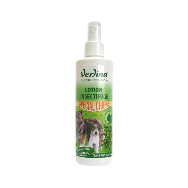 Lotion insectifuge - spécial chiens - 250 mL - VZLC1292 - VERLINA