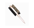 Brosse double face pour chaussures